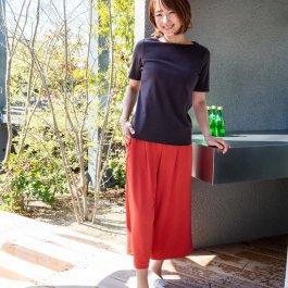 風を装うクールセンサーワイドパンツ【7961】