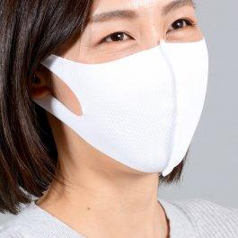 トリコット生地でつくった「洗えマスク」