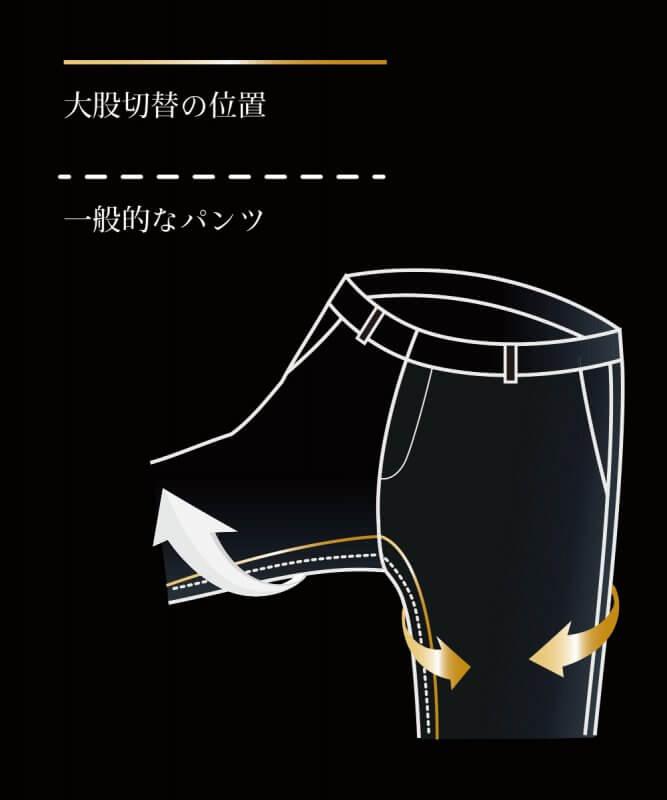 テーパードアンクルパンツ【823】